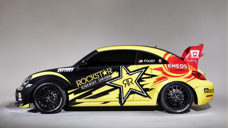 Holy Crap Tanner Foust Will Rallycross This 560 HP Volkswagen Beetle