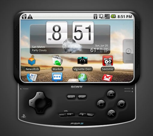Sony Ericsson Readying an Android 3.0 PlayStation Phone?