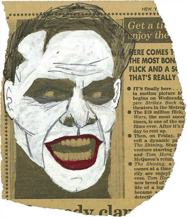 You could own the original sketch that transformed Jack Nicholson into the Joker!