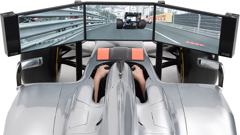 Costco UK Will Happily Sell You This Awesome $115,000 F1 Simulator