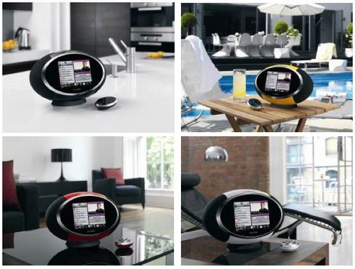 Pure's Sensia Internet Clock Radio Brings Touchscreen and Impressive Sound
