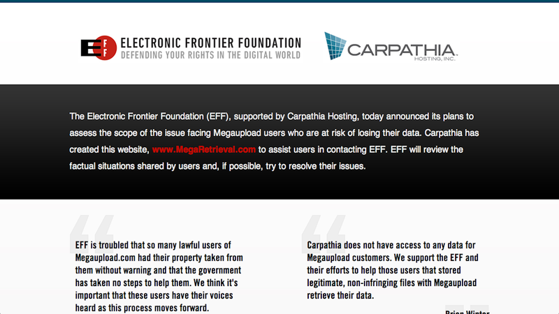 The Electronic Frontier Foundation Wants to Help You Get Your Files Back