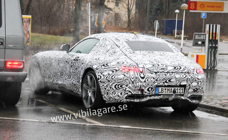 Mercedes' New AMG GT 911 Fighter Will Have This Nifty Hatchback