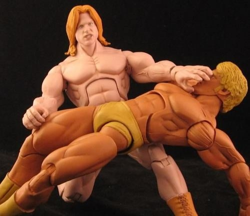 A Winner is These Custom NES Pro Wrestling Figures