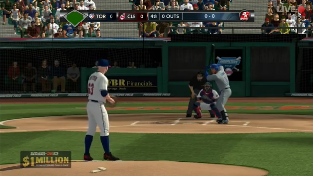 Watch This Pro Gamer Go Bananas, Live, When He Misses His MLB 2K12 Perfect Game Bid