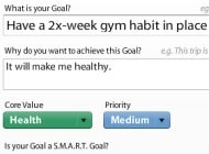 Lifetick Tracks Life Goals Web 2.0 Style