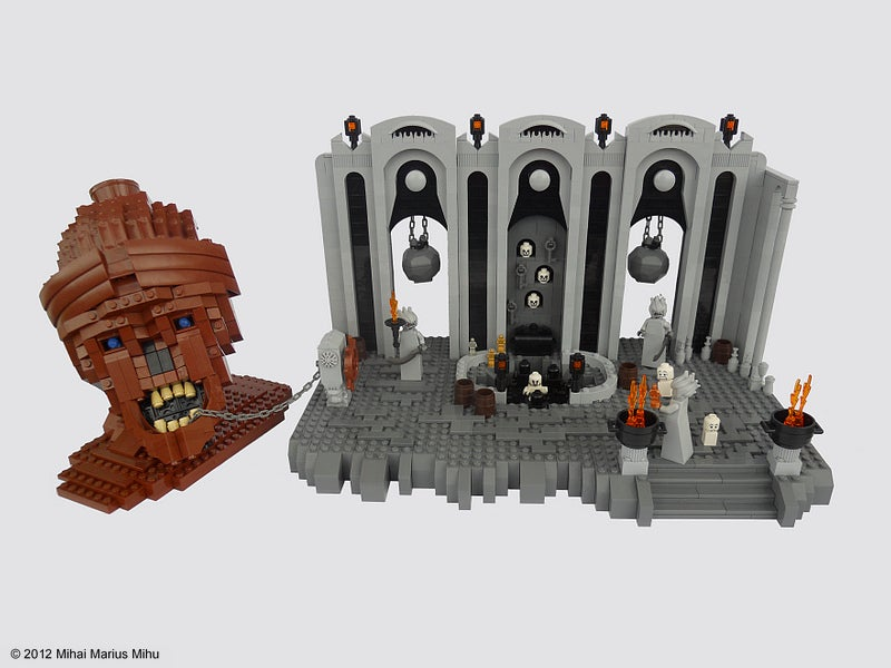 The Nine Circles Of Hell, As Depicted In LEGO