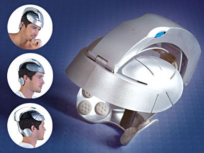 Head Spa Massager Relaxes, Makes You Look Stupid, Could Probably Lobotomize You