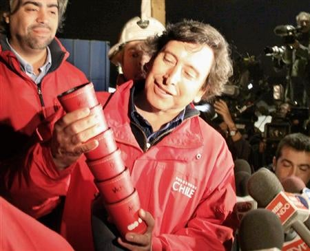 Trapped Chilean Miners Get PSPs