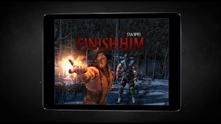 "Mortal Kombat X is coming to iOS and Android next month as a free-to-play fighting/card-game, shades of the mobile version of Injustice: Gods Among Us. The mobile MK will link to the console version for unlockable goodness. I don't know about you, but ""Swipe! Finish Him"" doesn't have quite the same ring."