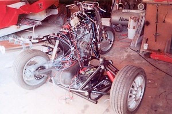 Medical Technician Builds Amazing Laverda Sidecar