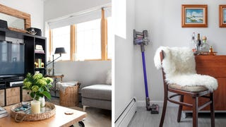 Design Tricks Make This 745-Square-Foot Apartment Feel Open and Bright
