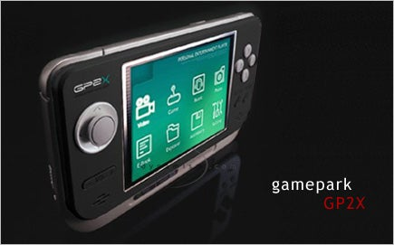 Gamepark GP2X Available in U.S.