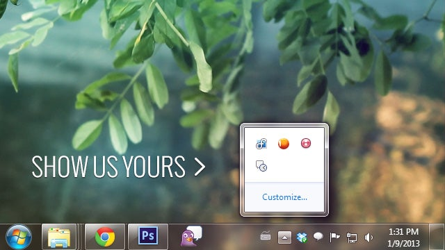 Show Us Your Menubar, Taskbar, or System Tray