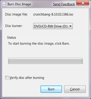 How to Burn ISOs in Windows 7