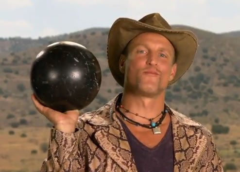 Woody Harrelson Goes Bowling for Zombies