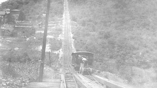 America's first roller coaster began as a railway for transporting coal