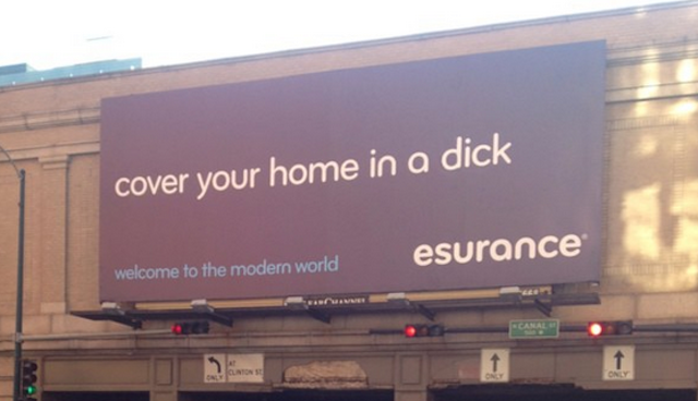 Here's A Big Billboard That Says Dick In Downtown Chicago [UPDATE]