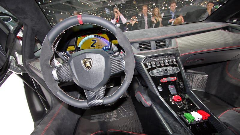 This Is The Lamborghini Veneno S Interior