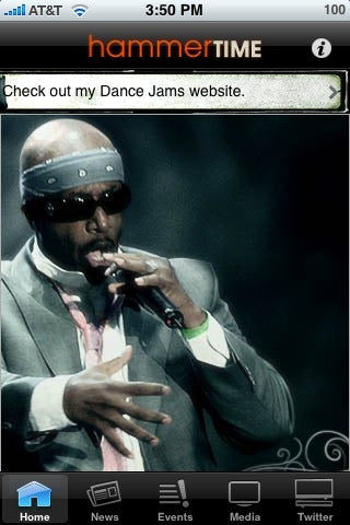 "Internet Visionary MC Hammer Releases Eagerly-Anticipated ""HammerTime"" iPhone App"