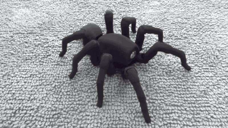 3D-printed Spiderbot is Freakishly Lifelike, Better Dancer than You
