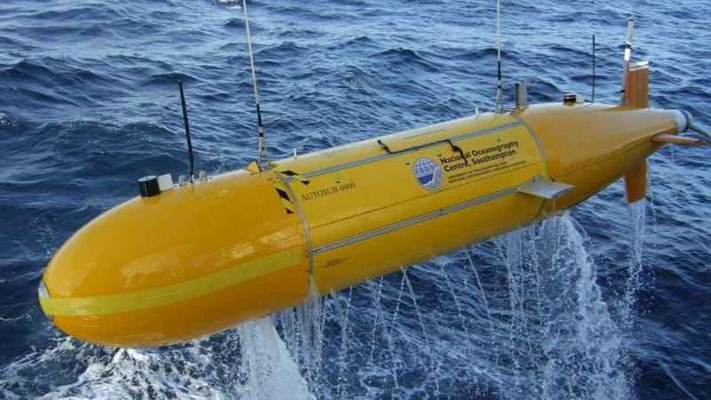 The Robot Sub That Can Chart Nearly Every Inch of the Ocean