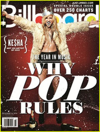 Ke$ha Won 2010, Says Billboard