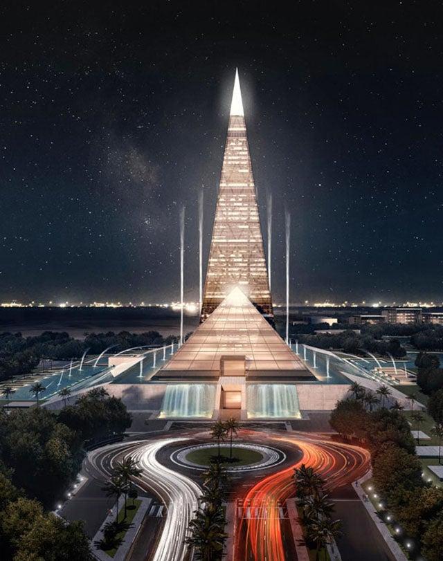 El próximo edificio más alto de Egipto será una nueva pirámide