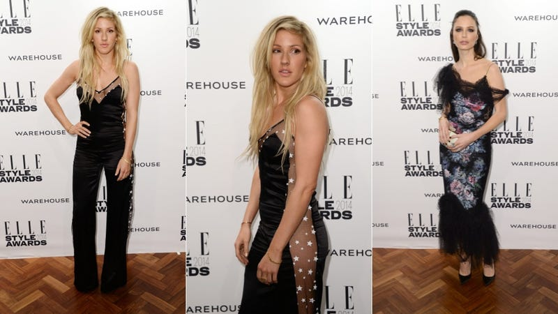 Ugly Prints and Slinky Suits at the Elle Style Awards