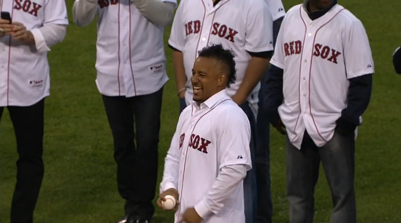 Johnny Damon Gets Payback, Cuts Off Manny Ramirez's First Pitch
