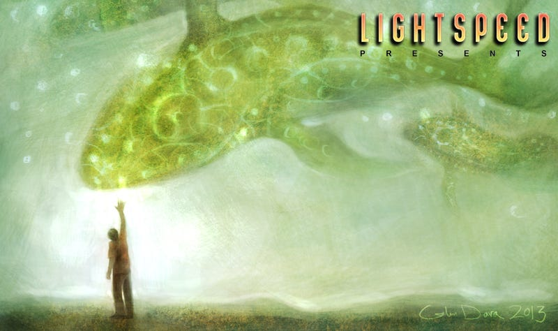 """LIGHTSPEED Presents: """"In the Dying Light, We Saw a Shape"""" by Jeremiah Tolbert"""