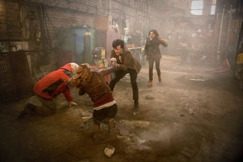 "Doctor Who ""Hungry Earth"" Pics"