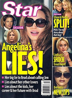 Angelina Breaks Promises; Britney Has Secrets, Everyone Wants To Lose Weight