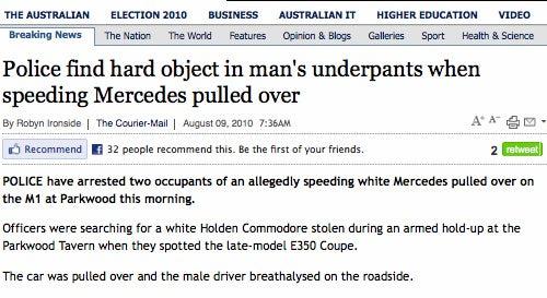God Bless Australian Headline Writers