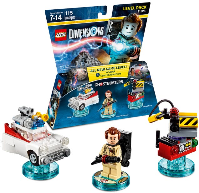Lego Dimensions' Ghostbusters Packs Will Include Stay Puft and Slimer