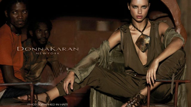 Donna Karan Shoots Ad Campaign In Haiti, Gets Called Racist