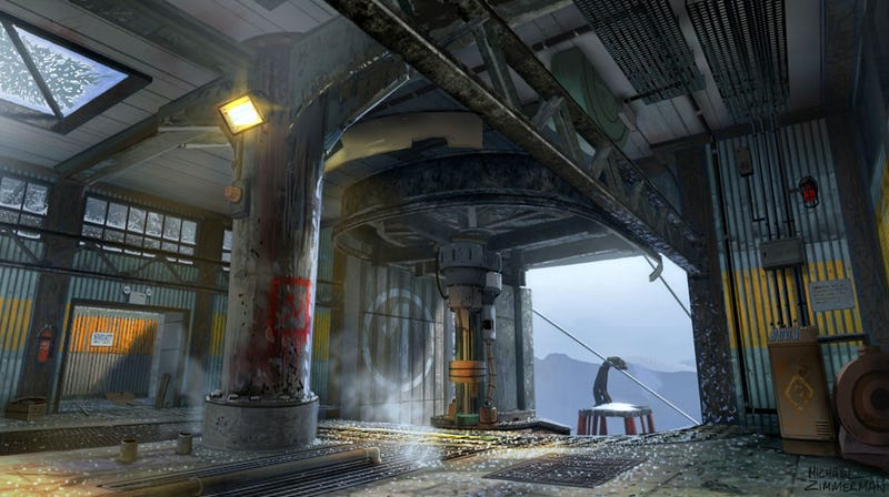 This Beautiful Art is From...Call of Duty: Black Ops? Huh?