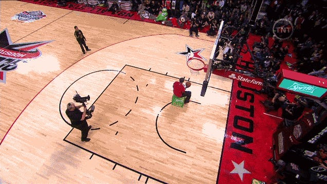 Here's Your NBA Slam Dunk Contest Final Round GIF Collection