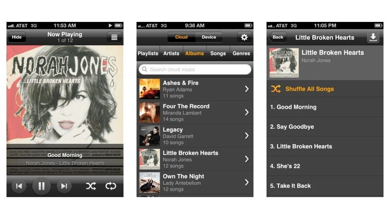 Amazon Cloud Player Streams All Your Music to Your iPhone