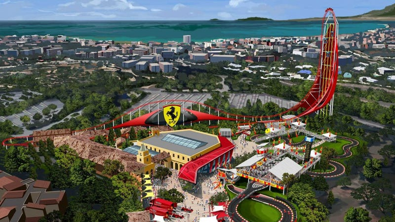 Ferrari's Opening A Hotel In Spain So You Can Now Sleep In A Ferrari
