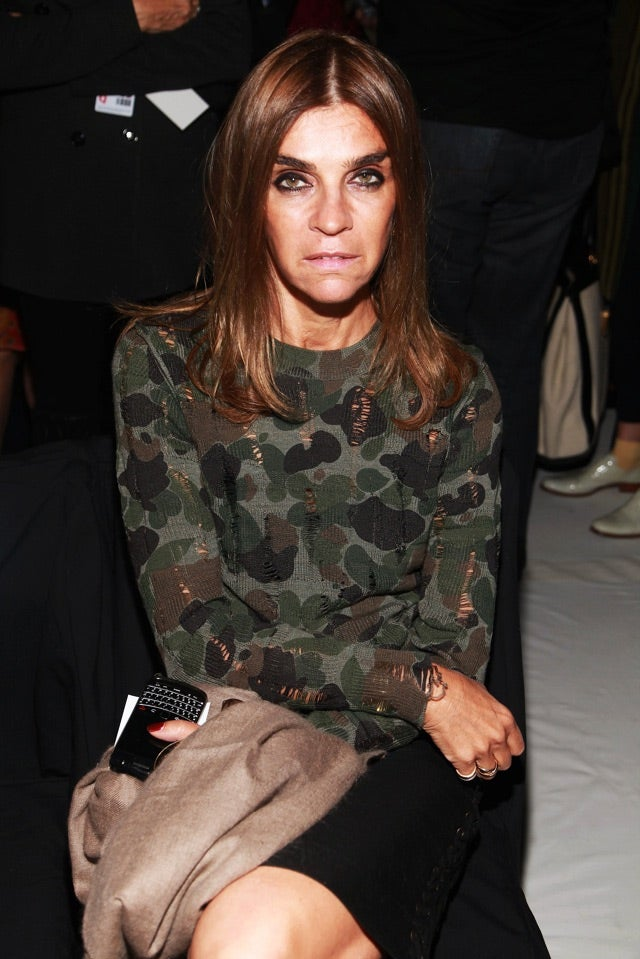 Did French Vogue Fire Carine Roitfeld?
