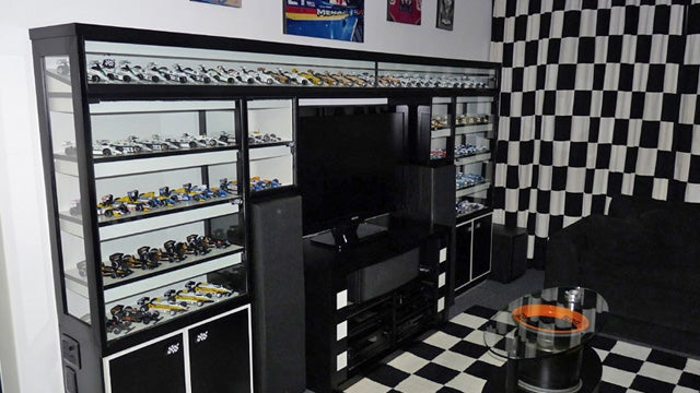 This insane F1 model gallery is located in one man's home