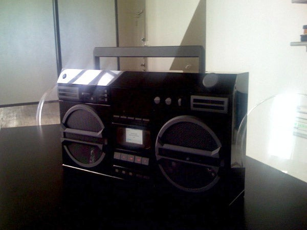 DBA XPD171 iPod Ghetto Blaster Boombox
