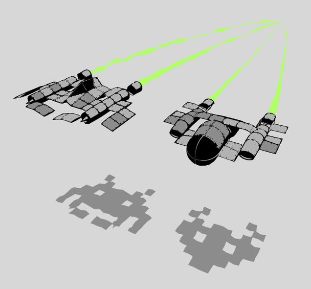 What Space Invaders Really Look Like (T-Shirt)