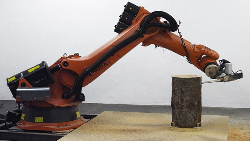 Giving This Robot a Chainsaw Could Be Mankind's Greatest Folly