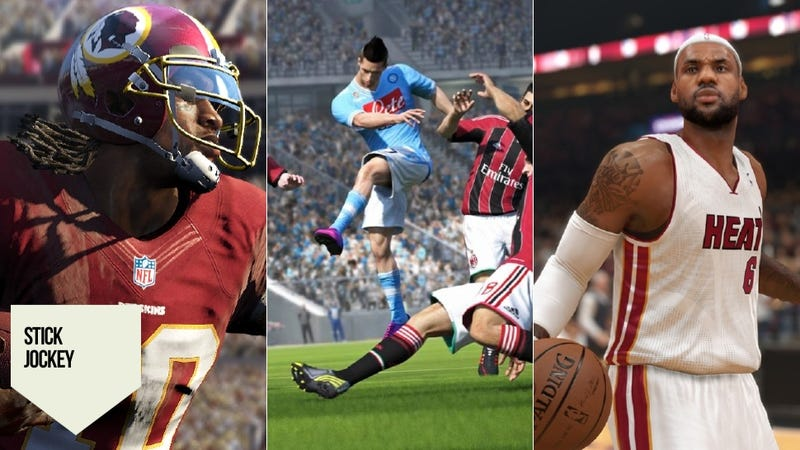 The PS4 Makes Madden, FIFA and NBA 2K Better, But Not Essential