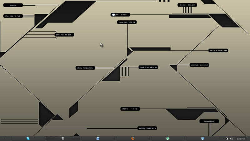 The Information Node Desktop