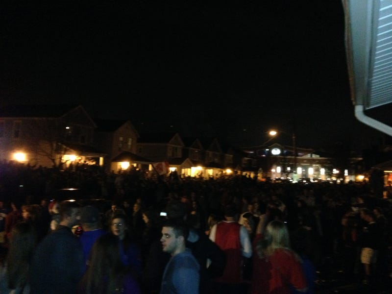 Dayton Campus Is Going Crazy After Upsetting Syracuse