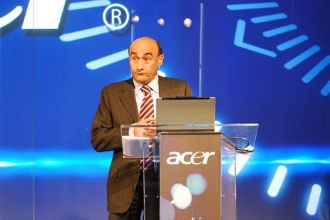 """Acer Mystery """"Blue"""" Mobile Gadget Press Conference"""
