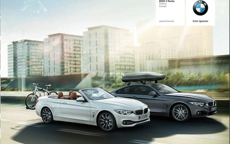The 2014 BMW 4-Series Convertible Is Pretty Much What We Expected